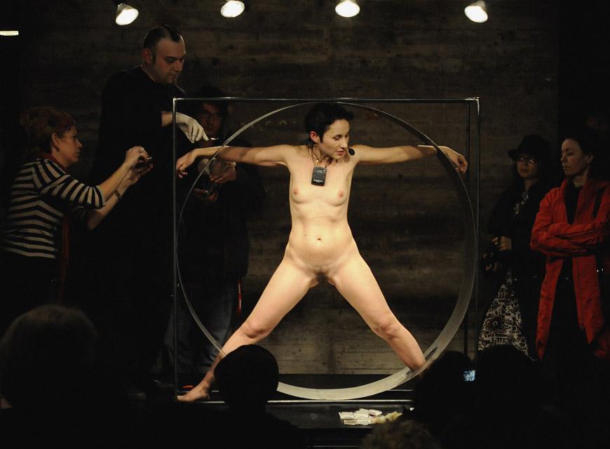 Vitruvian Body, 2009. Photo: Jan Stradmann